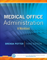 cover image - Evolve Resources with TEACH for Medical Office Administration,3rd Edition
