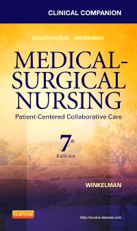 cover image - Clinical Companion for Medical-Surgical Nursing - Elsevier eBook on VitalSource,7th Edition