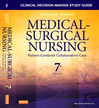cover image - Clinical Decision-Making Study Guide for Medical-Surgical Nursing - Elsevier eBook on VitalSource,7th Edition