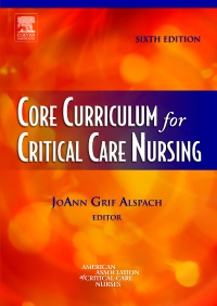 cover image - Core Curriculum for Critical Care Nursing - Elsevier eBook on VitalSource,6th Edition