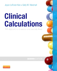cover image - Evolve Resources for Clinical Calculations,7th Edition