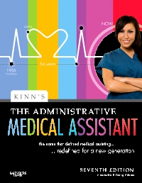cover image - Kinn's The Administrative Medical Assistant - Elsevier eBook on VitalSource,7th Edition