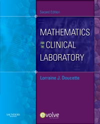 cover image - Mathematics for the Clinical Laboratory - Elsevier eBook on VitalSource,2nd Edition