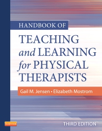 cover image - Handbook of Teaching and Learning for Physical Therapists,3rd Edition