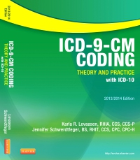 cover image - ICD-9-CM Coding: Theory and Practice with ICD-10, 2013/2014 Edition - Elsevier eBook on VitalSource