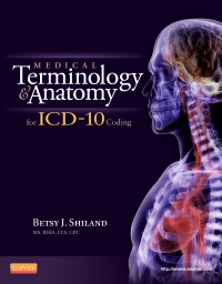 cover image - Medical Terminology and Anatomy for ICD-10 Coding - Elsevier eBook on VitalSource
