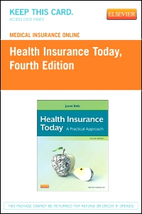 cover image - Medical Insurance Online for Health Insurance Today,4th Edition