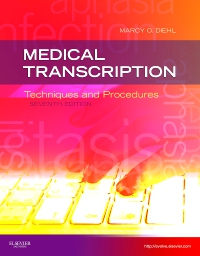 cover image - Medical Transcription - Elsevier eBook on VitalSource,7th Edition