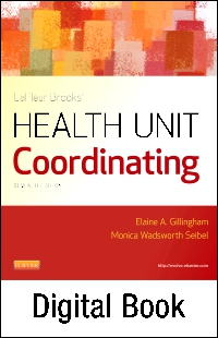 cover image - LaFleur Brooks' Health Unit Coordinating Elsevier eBook on VitalSource,7th Edition