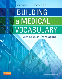 cover image - Building a Medical Vocabulary - Elsevier eBook on VitalSource,8th Edition