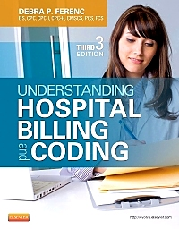 cover image - Evolve Resources for Understanding Hospital Billing and Coding,3rd Edition