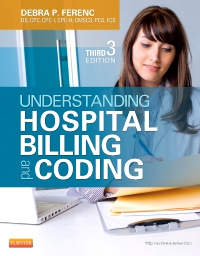cover image - Understanding Hospital Billing and Coding - Elsevier eBook on VitalSource,3rd Edition