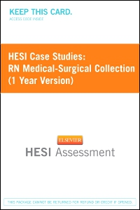 cover image - HESI Case Studies: RN Medical-Surgical Collection (1 Year Version)
