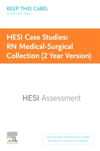 cover image - HESI Case Studies: RN Medical-Surgical Collection (2 Year Version)
