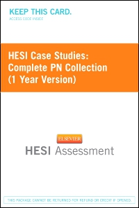 cover image - HESI Case Studies: Complete PN Collection (1 Year Version)