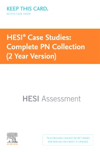 cover image - HESI Case Studies: Complete PN Collection (2 Year Version)