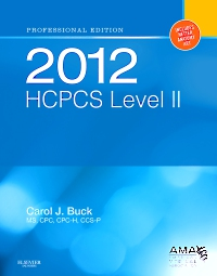 cover image - 2012 HCPCS Level II Professional Edition - Elsevier eBook on VitalSource