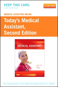 cover image - Medical Assisting Online for Today's Medical Assistant,2nd Edition