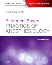 cover image - Evidence-Based Practice of Anesthesiology,3rd Edition