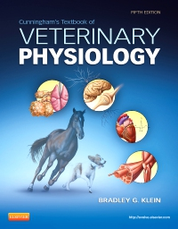 cover image - Textbook of Veterinary Physiology - Elsevier eBook on VitalSource,5th Edition