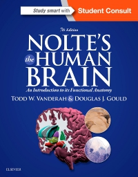 cover image - Evolve Resources for Nolte's The Human Brain,7th Edition