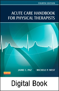 cover image - Acute Care Handbook for Physical Therapists- Elsevier eBook on VitalSource,4th Edition