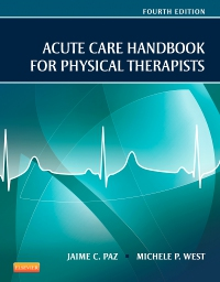 cover image - Acute Care Handbook for Physical Therapists,4th Edition