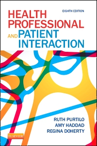 cover image - Health Professional and Patient Interaction,8th Edition