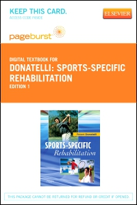 cover image - Sports-Specific Rehabilitation - Elsevier eBook on VitalSource (Retail Access Card)