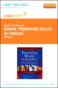 cover image - Promoting Health in Families - Elsevier eBook on VitalSource (Retail Access Card),3rd Edition