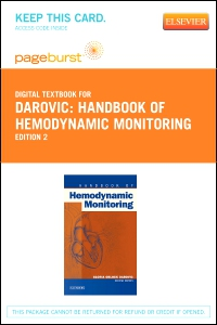 cover image - Handbook of Hemodynamic Monitoring - Elsevier eBook on VitalSource (Retail Access Card),2nd Edition