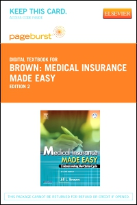 cover image - Medical Insurance Made Easy - Elsevier eBook on VitalSource (Retail Access Card),2nd Edition