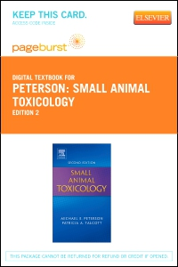 cover image - Small Animal Toxicology - Elsevier eBook on VitalSource (Retail Access Card),2nd Edition