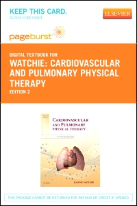 cover image - Cardiovascular and Pulmonary Physical Therapy - Elsevier eBook on VitalSource (Retail Access Card),2nd Edition