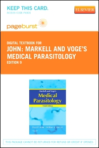 cover image - Markell and Voge's Medical Parasitology - Elsevier eBook on VitalSource (Retail Access Card),9th Edition