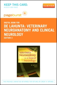cover image - Veterinary Neuroanatomy and Clinical Neurology - Elsevier eBook on VitalSource (Retail Access Card),3rd Edition