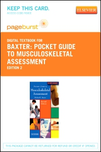 cover image - Pocket Guide to Musculoskeletal Assessment - Elsevier eBook on VitalSource (Retail Access Card),2nd Edition