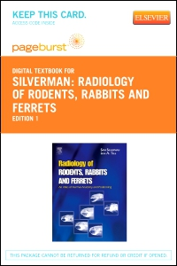 cover image - Radiology of Rodents, Rabbits and Ferrets - Elsevier eBook on VitalSource (Retail Access Card)