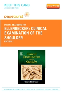 cover image - Clinical Examination of the Shoulder - Elsevier eBook on VitalSource (Retail Access Card)