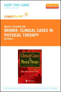 cover image - Clinical Cases in Physical Therapy - Elsevier eBook on VitalSource (Retail Access Card),2nd Edition