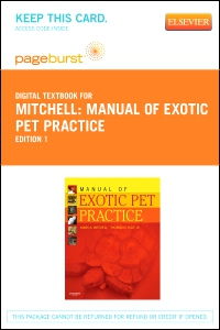 cover image - Manual of Exotic Pet Practice - Elsevier eBook on VitalSource (Retail Access Card)