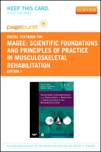 cover image - Scientific Foundations and Principles of Practice in Musculoskeletal Rehabilitation - Elsevier eBook on VitalSource (Retail Access Card)