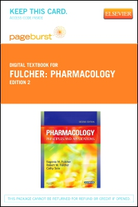 cover image - Pharmacology - Elsevier eBook on VitalSource (Retail Access Card),2nd Edition