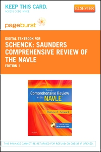 cover image - Saunders Comprehensive Review of the NAVLE - Elsevier eBook on VitalSource (Retail Access Card)