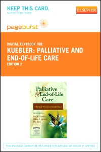 cover image - Palliative and End-of-Life Care - Elsevier eBook on VitalSource (Retail Access Card),2nd Edition