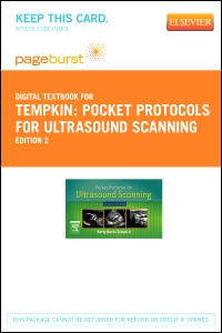cover image - Pocket Protocols for Ultrasound Scanning - Elsevier eBook on VitalSource (Retail Access Card),2nd Edition