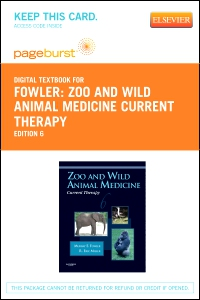 cover image - Zoo and Wild Animal Medicine Current Therapy - Elsevier eBook on VitalSource (Retail Access Card),6th Edition