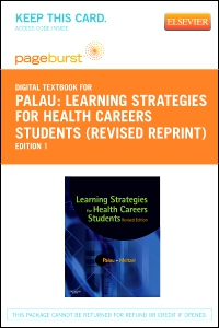 cover image - Learning Strategies for Health Careers Students (Revised Reprint) - Elsevier eBook on VitalSource (Retail Access Card)