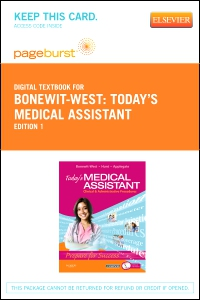 cover image - Today's Medical Assistant - Elsevier eBook on VitalSource (Retail Access Card)