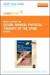cover image - Manual Physical Therapy of the Spine - Elsevier eBook on VitalSource (Retail Access Card)